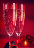 Romantic Valentine day dinner Royalty Free Stock Photography