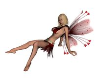 Romantic Valentine Fairy - 3 Royalty Free Stock Photography