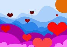 Romantic valentine love royalty free stock images