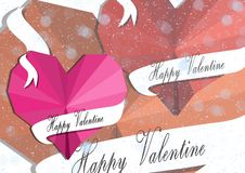 Romantic valentine love royalty free illustration