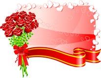 Romantic Valentine's Day design background Stock Photos