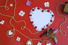 Romantic Valentines Day Date tips. Stock Photo
