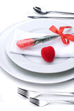 Romantic Valentines Day Dinner Royalty Free Stock Image
