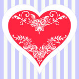 Romantic vector valentine's day Royalty Free Stock Photo