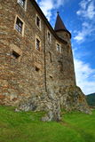 The romantic Velhartice Castle. Situated in the Bohemian Forest, the castle was owned by Bušek of Velhartice Royalty Free Stock Photos
