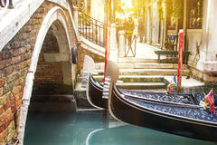 Romantic venice Stock Photo