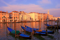 Romantic Venice in Italy Stock Photography