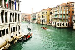 Romantic Venice in Italy royalty free stock images