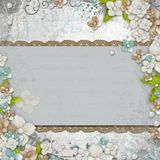 Romantic  vintage  background Royalty Free Stock Photo