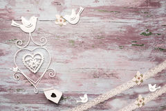 Romantic vintage card royalty free stock photography