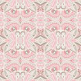 Romantic Vintage Cute pink vector seamless pattern damask Background royalty free stock photos