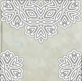 Romantic vintage lace ornament paper texture Royalty Free Stock Photos