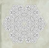 Romantic vintage lace ornament paper texture Stock Images