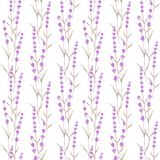 Romantic vintage pattern Royalty Free Stock Images