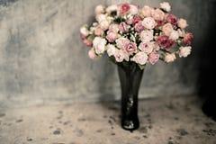 Romantic Vintage Rose Bouquet. Stock Images