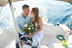 Romantic voyage Stock Photography