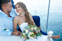 Romantic voyage Royalty Free Stock Image