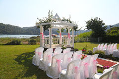 Romantic Wedding Day venue Stock Image