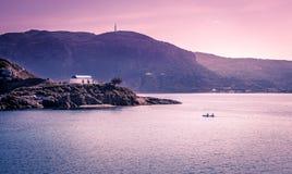Romantic wedding on greek island Stock Image