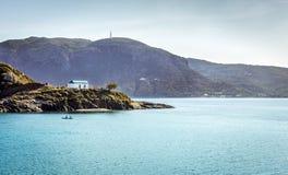 Romantic wedding on greek island Royalty Free Stock Images