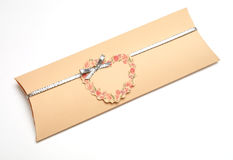 Romantic Wedding Invitation Envelop Stock Photography