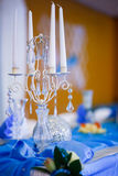 Romantic wedding setting Royalty Free Stock Photography