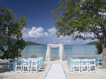 Romantic wedding venue Royalty Free Stock Photo
