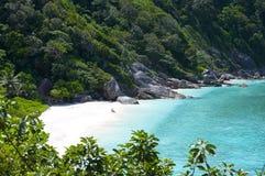 Romantic Wild coast Royalty Free Stock Photography