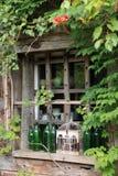 Romantic Window Stock Photo