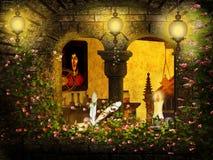 Romantic window Royalty Free Stock Photo
