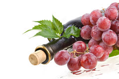 Romantic wine still-life Royalty Free Stock Photos