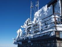 Romantic winter in High Tatras. Winter photo in High Tatras in Slovakia Royalty Free Stock Photos