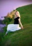 Romantic woman Stock Photos