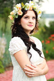 Romantic woman Royalty Free Stock Images