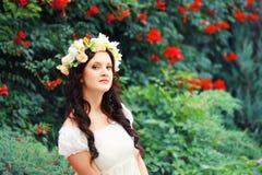 Romantic woman Royalty Free Stock Photos