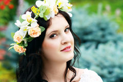 Romantic woman Royalty Free Stock Photos