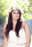 Romantic woman Royalty Free Stock Photo