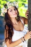 Romantic woman Royalty Free Stock Image