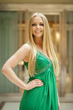 Romantic young blonde woman portrait Royalty Free Stock Photo