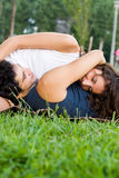 Romantic young couple Stock Photography
