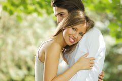 Romantic young couple Royalty Free Stock Photo