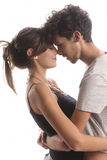 Romantic young couple Royalty Free Stock Photos