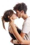 Romantic young couple Royalty Free Stock Images