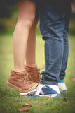 Romantic young couple in love Royalty Free Stock Photo