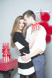 Romantic young people Royalty Free Stock Image