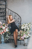 Romantic young woman portrait Royalty Free Stock Photography