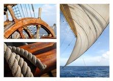 Romanticism Under Sails Stock Images