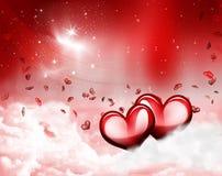 Romanticismo del amor Foto de archivo libre de regalías