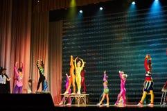 'Romantics' circus entertainment show , 21 February 2016 in Minsk, Belarus. Stock Images