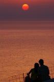 romantiker Fotografering för Bildbyråer
